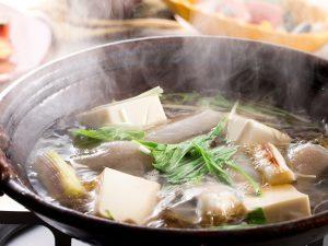 本館コース料理 冬の鍋膳