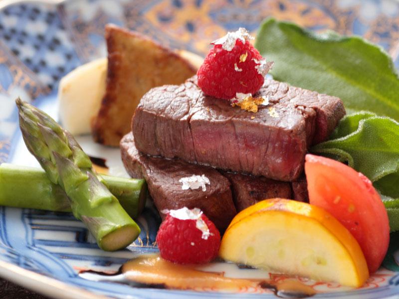 クリスマス肉料理800