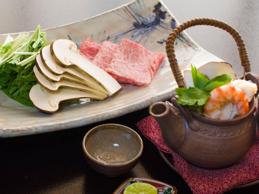 本館松茸syabu
