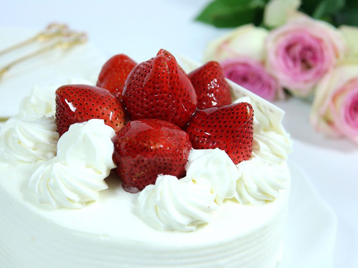 ケーキお花1200