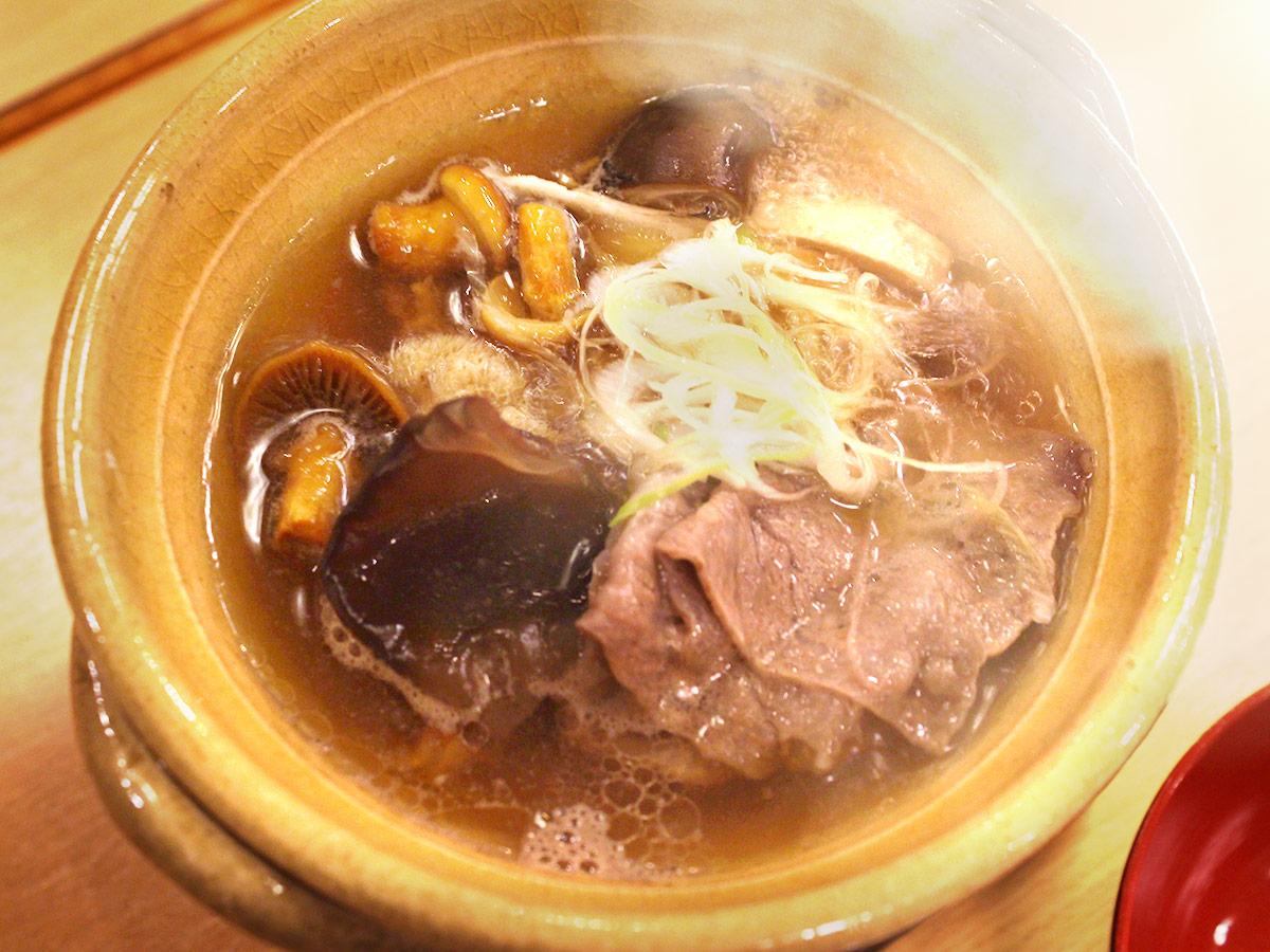 きのこ鍋ゆげIMG_6250